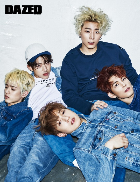 Photoshoot Updated With Mini Video Day6 For Dazed
