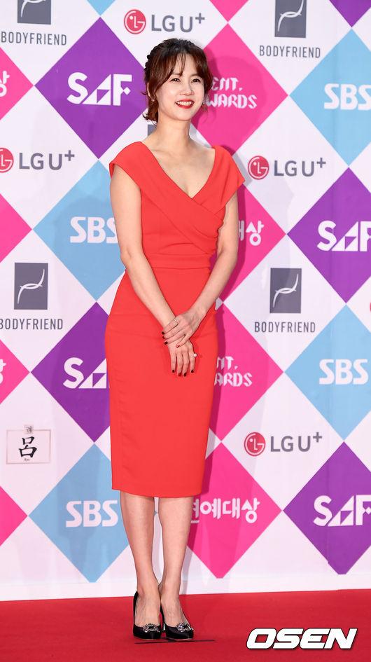 [사진]박소현,'아름다운 자태' (2016 sbs 연예대상)