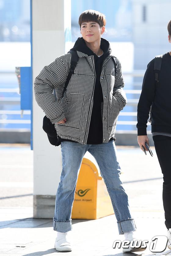 박보검, 꿀 떨어지는 눈빛