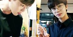몬스타엑스레이2 첫 촬영현장현장 독점공개! 알바생으로 깜짝 변신한 몬스타엑스?!